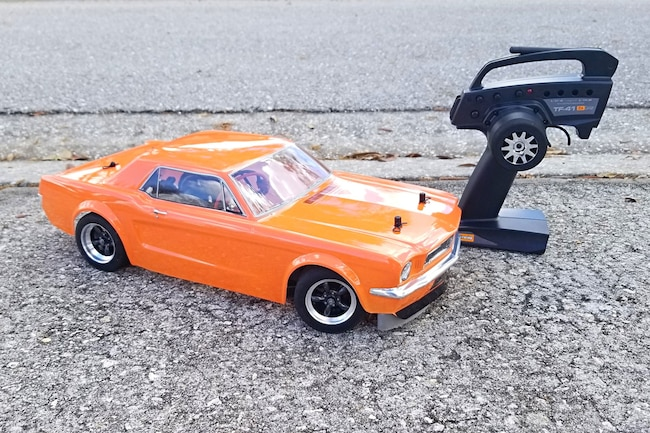 01 HPI Racing RS4 Sport3 Creator Edition Build Off Mustang Monthly 1966