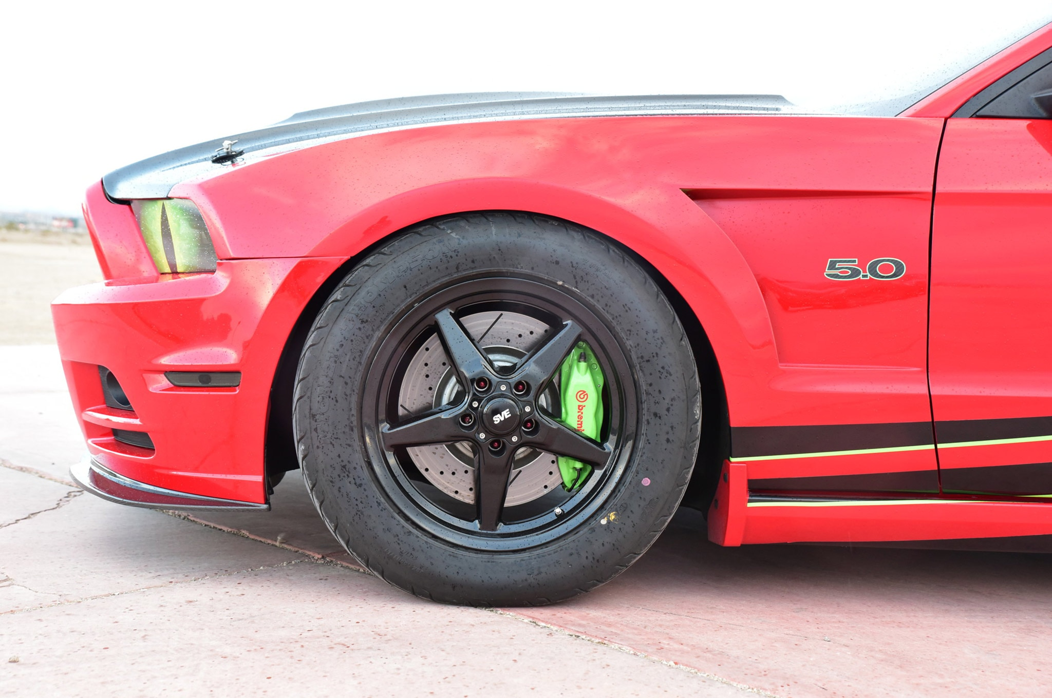 2013 Ford Mustang California Special Red Snake Eyes 007
