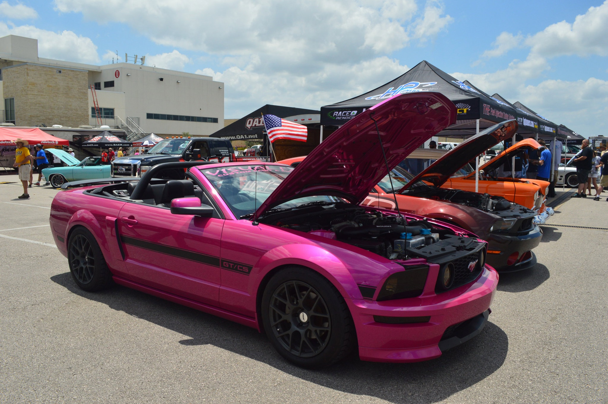 2016 Hot Rod Power Tour Day 3 Mustangs 043