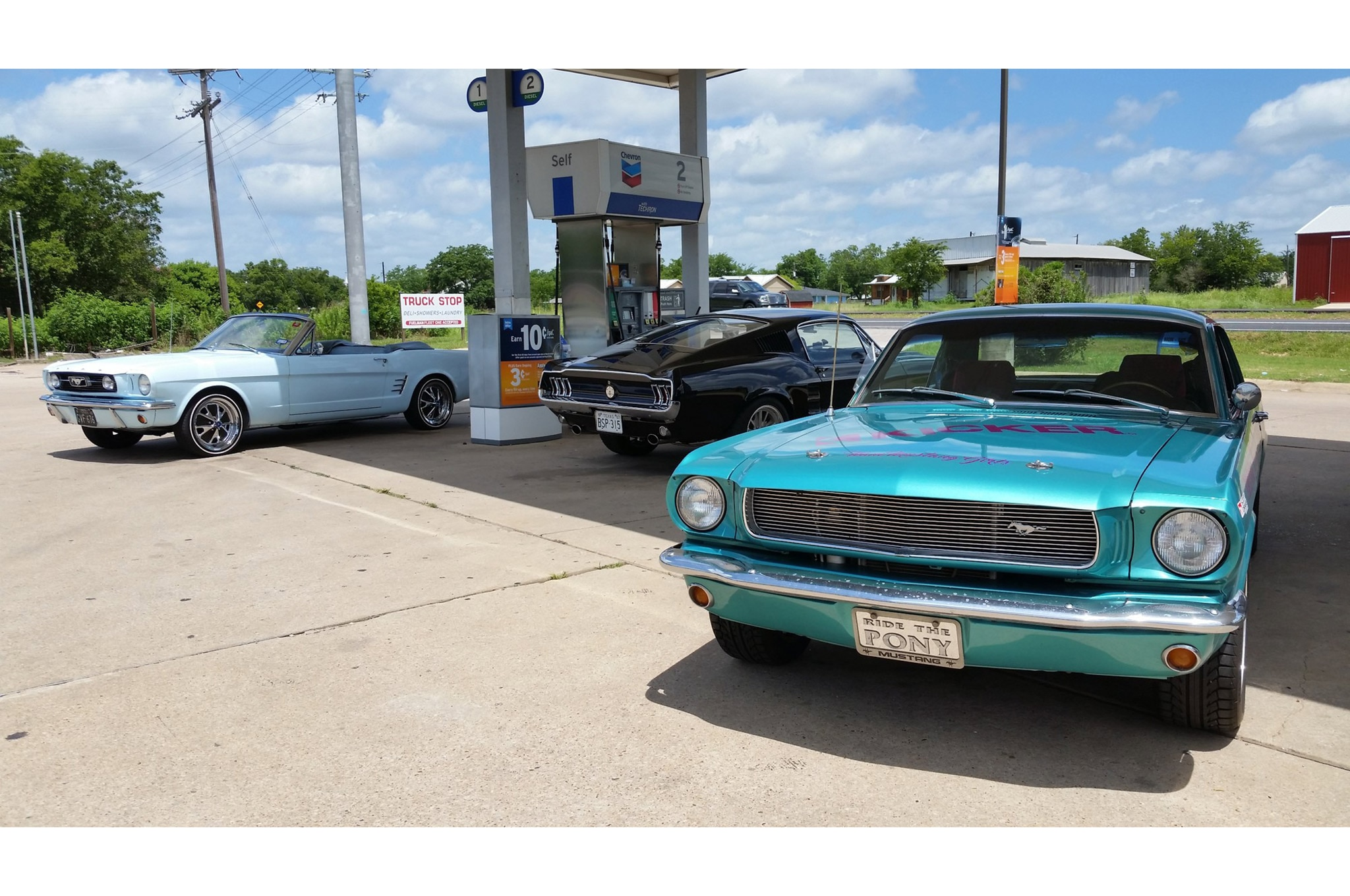 2016 Hot Rod Power Tour Day 3 Mustangs 012