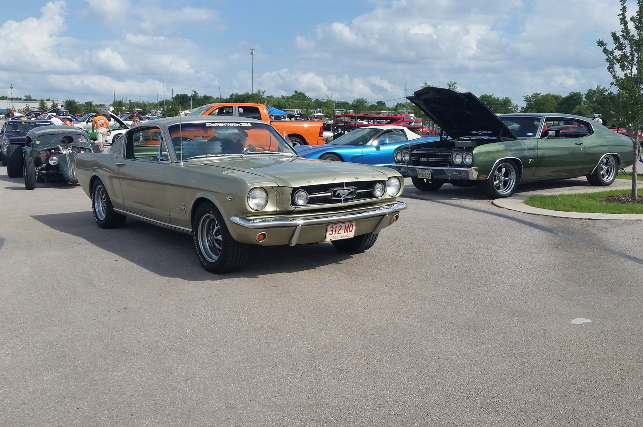 2016 Hot Rod Power Tour Day 3 Mustangs 002