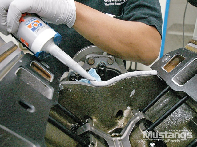 Fuel Injection Conversion Silicone Sealer