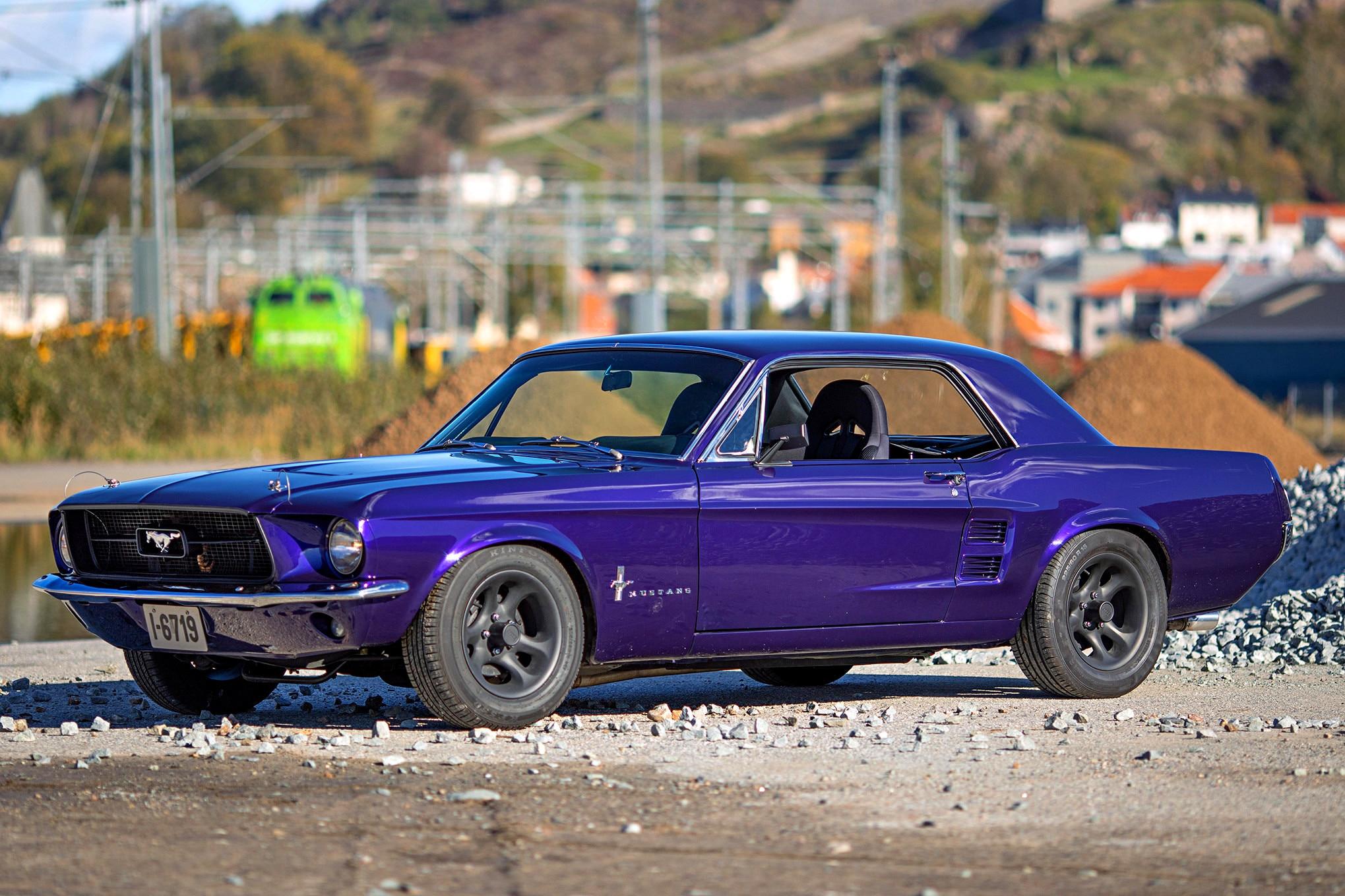 Kristine Jorgensen 1967 Mustang 02