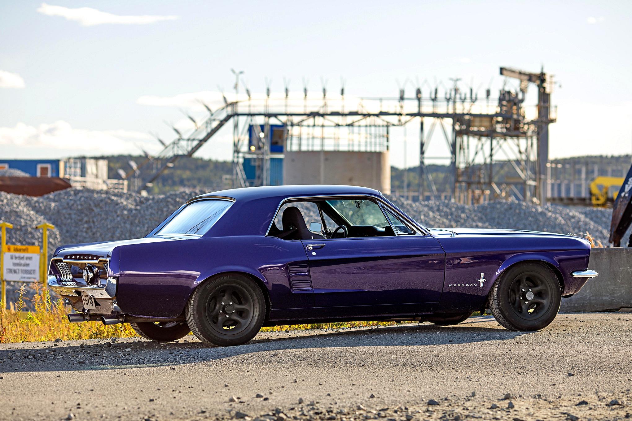 Kristine Jorgensen 1967 Mustang 06