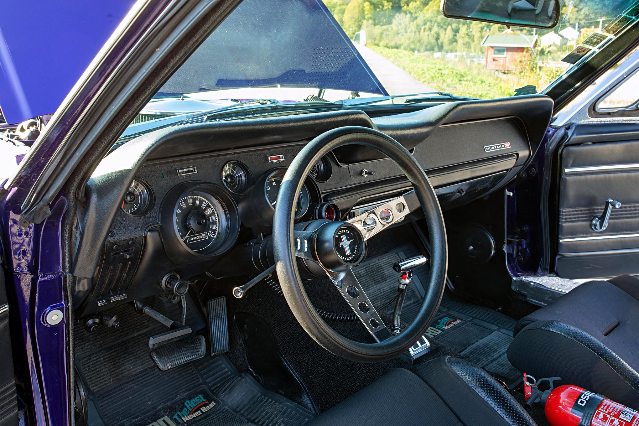 Kristine Jorgensen 1967 Mustang 05