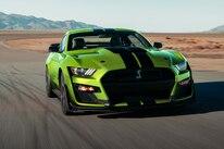 3 Grabber Lime 2020 Mustang