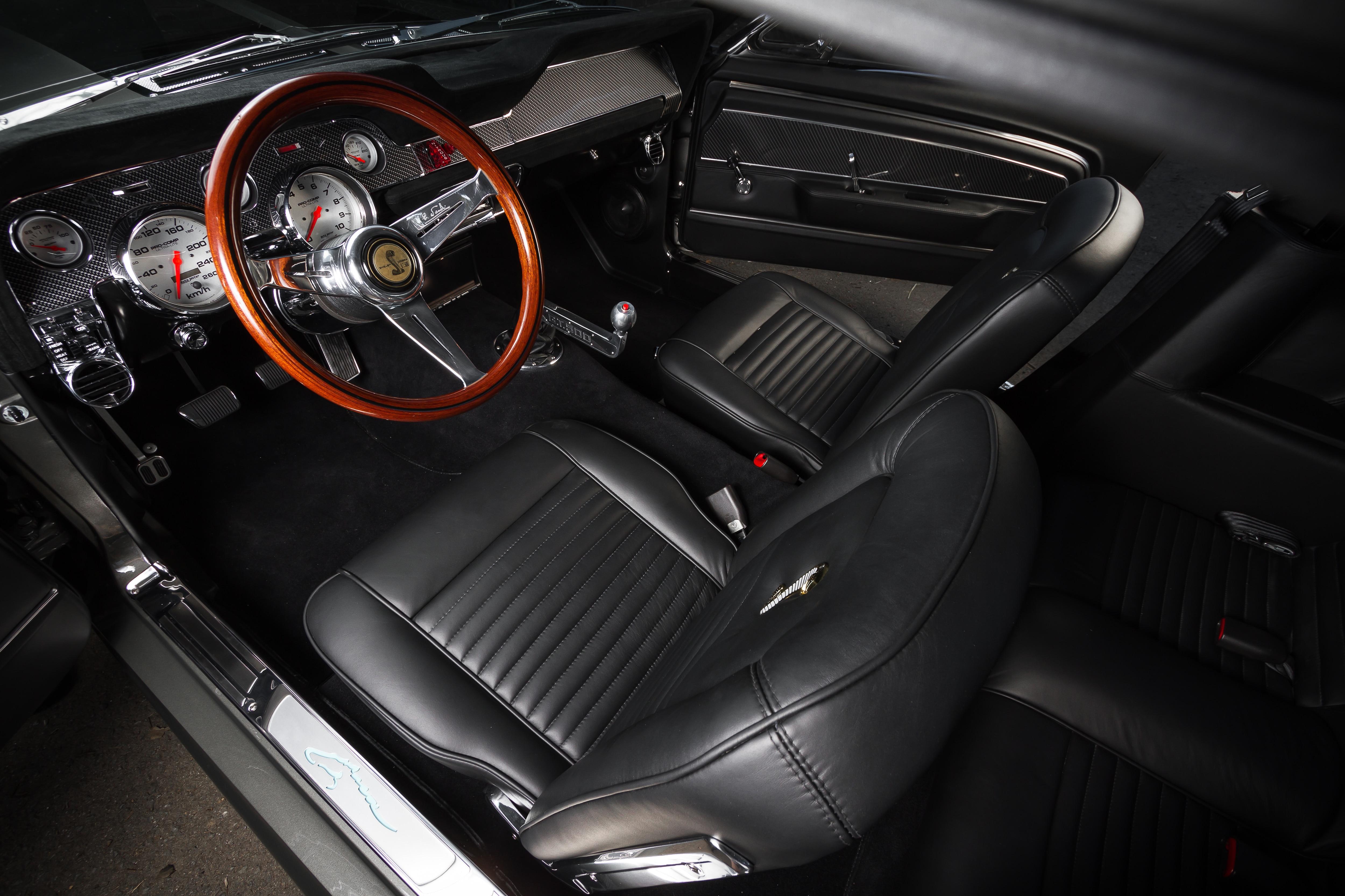14 1967 Ford Mustang Interior