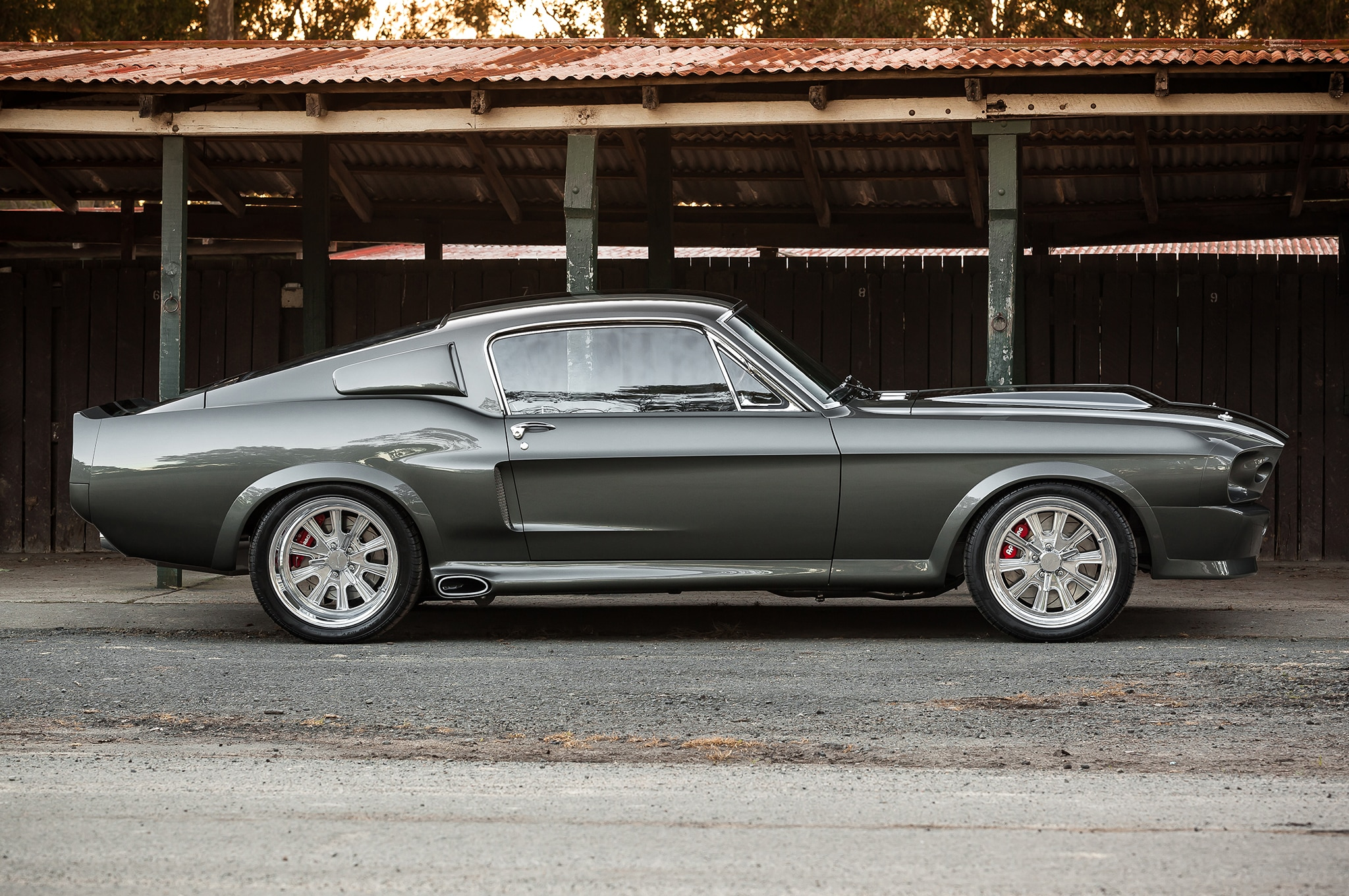 1967 Ford Mustang Side View
