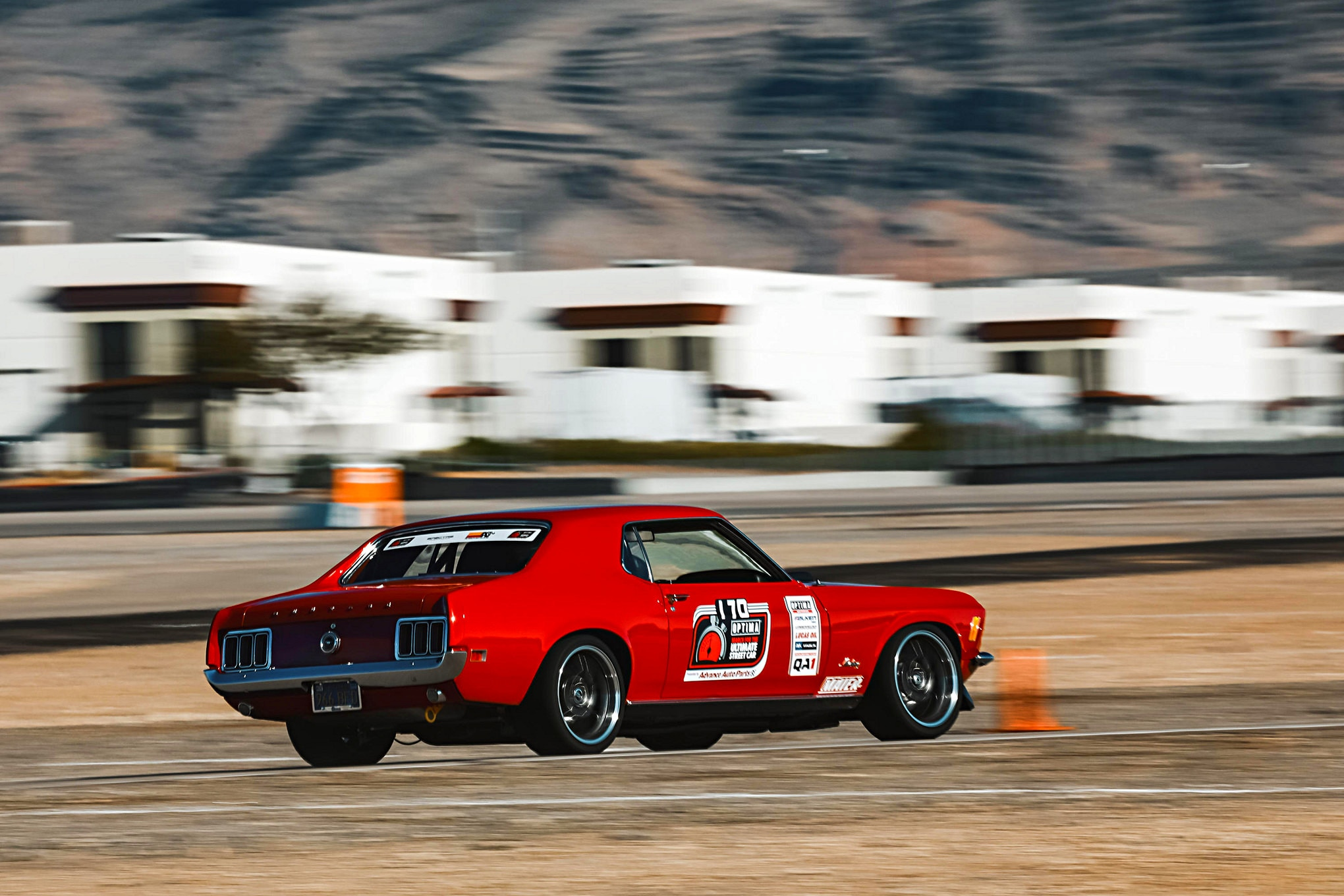 MMFF Mike Lofstrom 1970 Ford Mustang DriveOPTIMA Las Vegas 2019  59