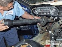 Mump_0903_06_z Ford_mustang Removing_steering_column