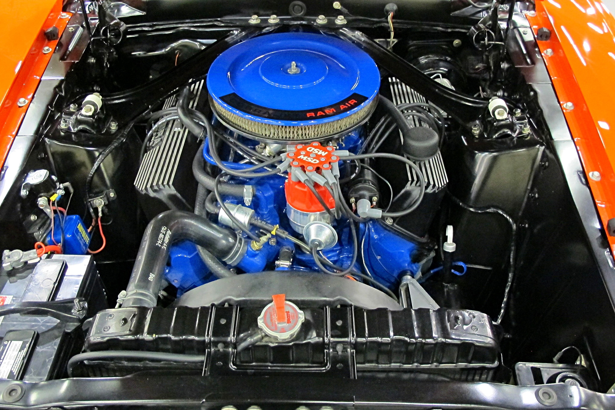 2019 Nascar Ford Mustang Engine