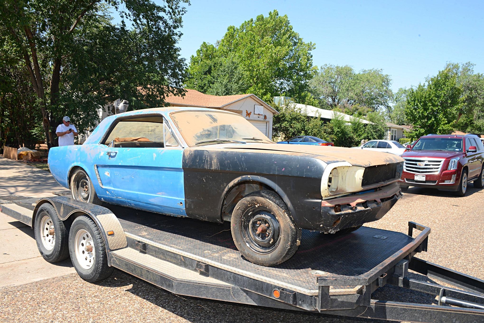 014 Mustang Barnfind Restored Heasley