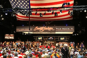 A corral of Blue Oval dream rides crossed the block at Barrett-Jackson in Palm Beach