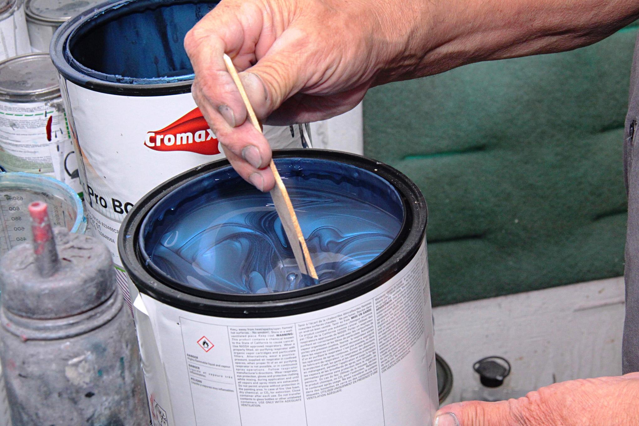 003 1999 Mustang Gt Paint Preparation Axalta Fitment