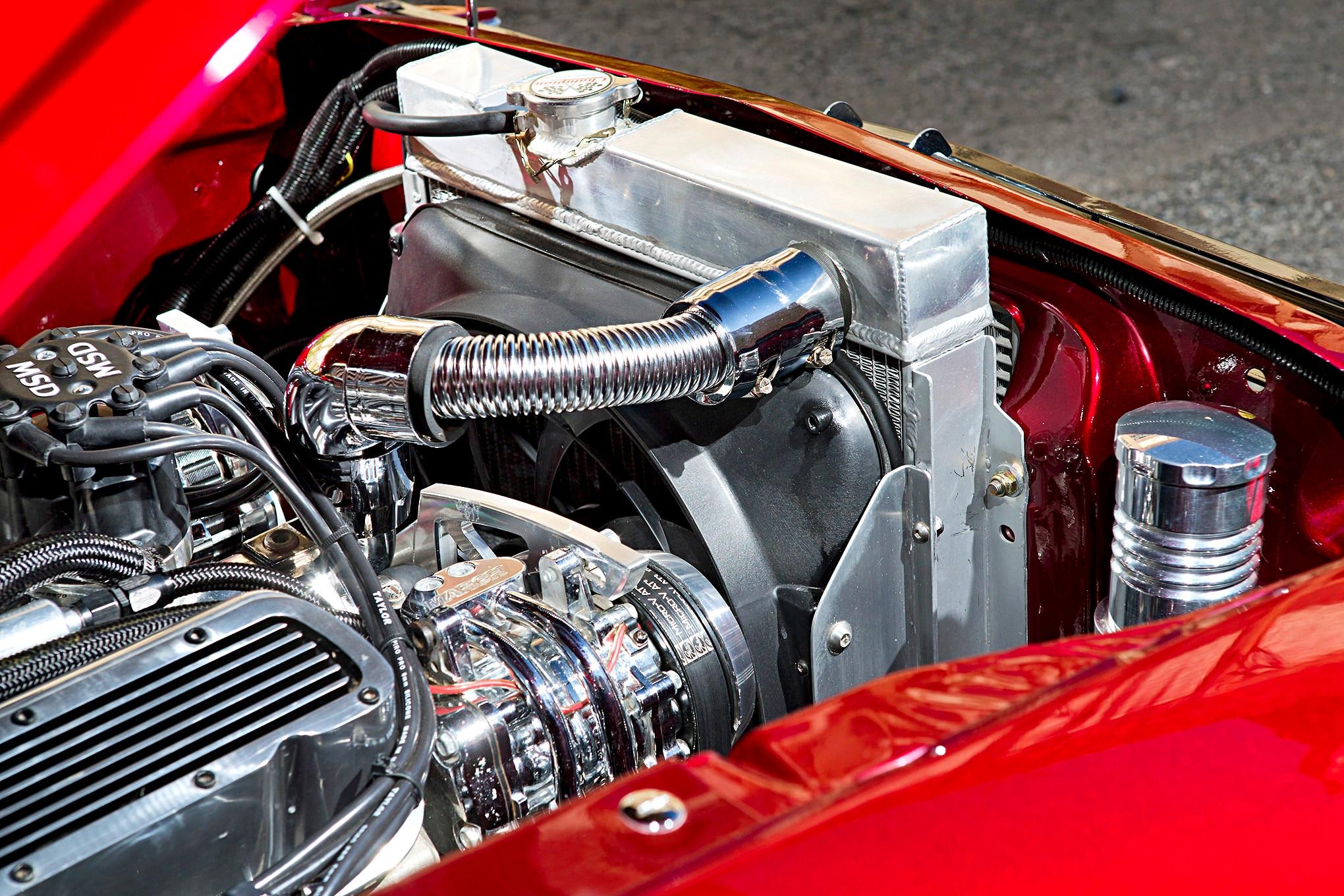 019 1966 Mustang Radiator
