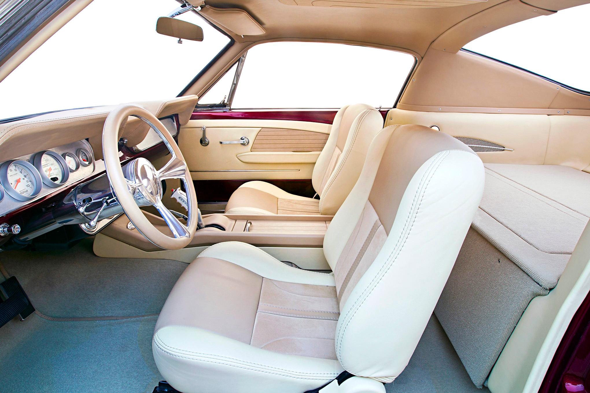 023 1966 Mustang Interior