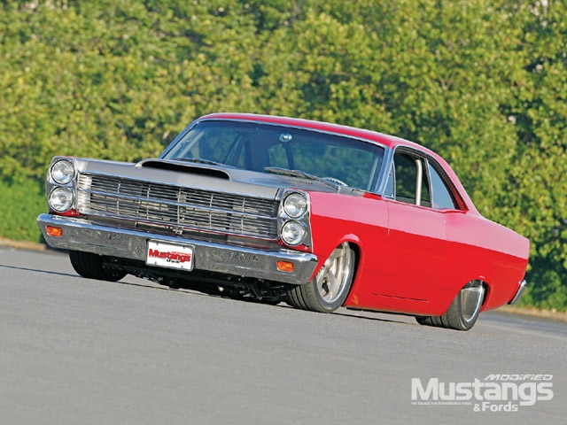 1966 Ford Fairlane Custom Front Left View