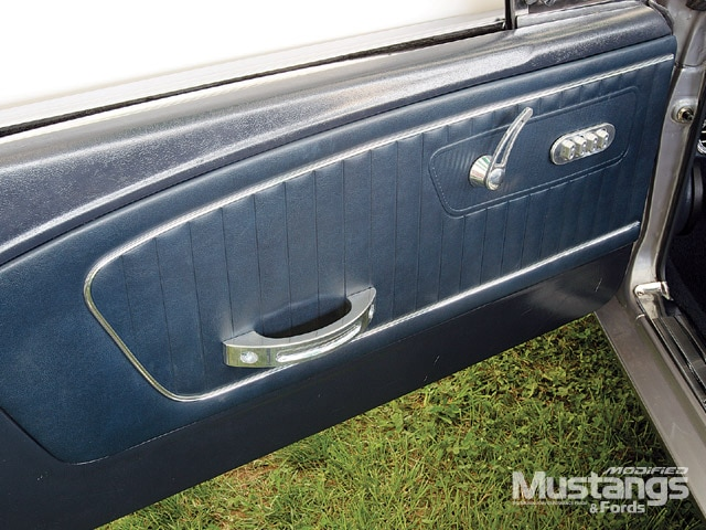 1966 Ford Mustang Gt Convertible Door Panel