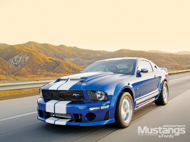 2005 Roush Stage 1 Mustang Front View