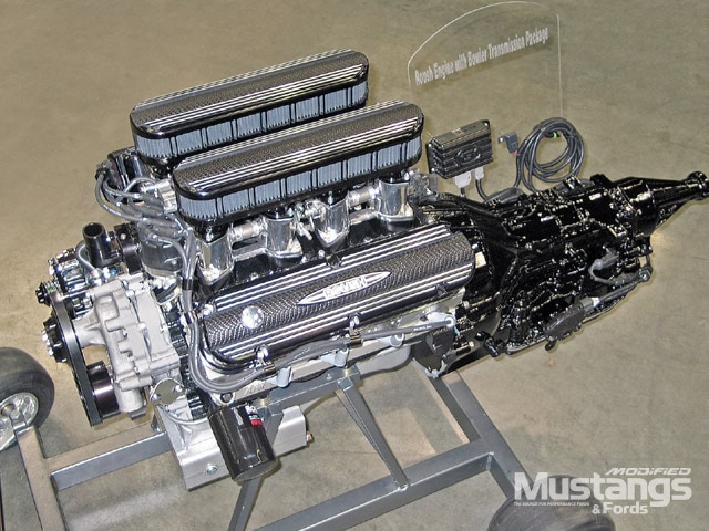 Roush Performance Powertrains And Engines Front View