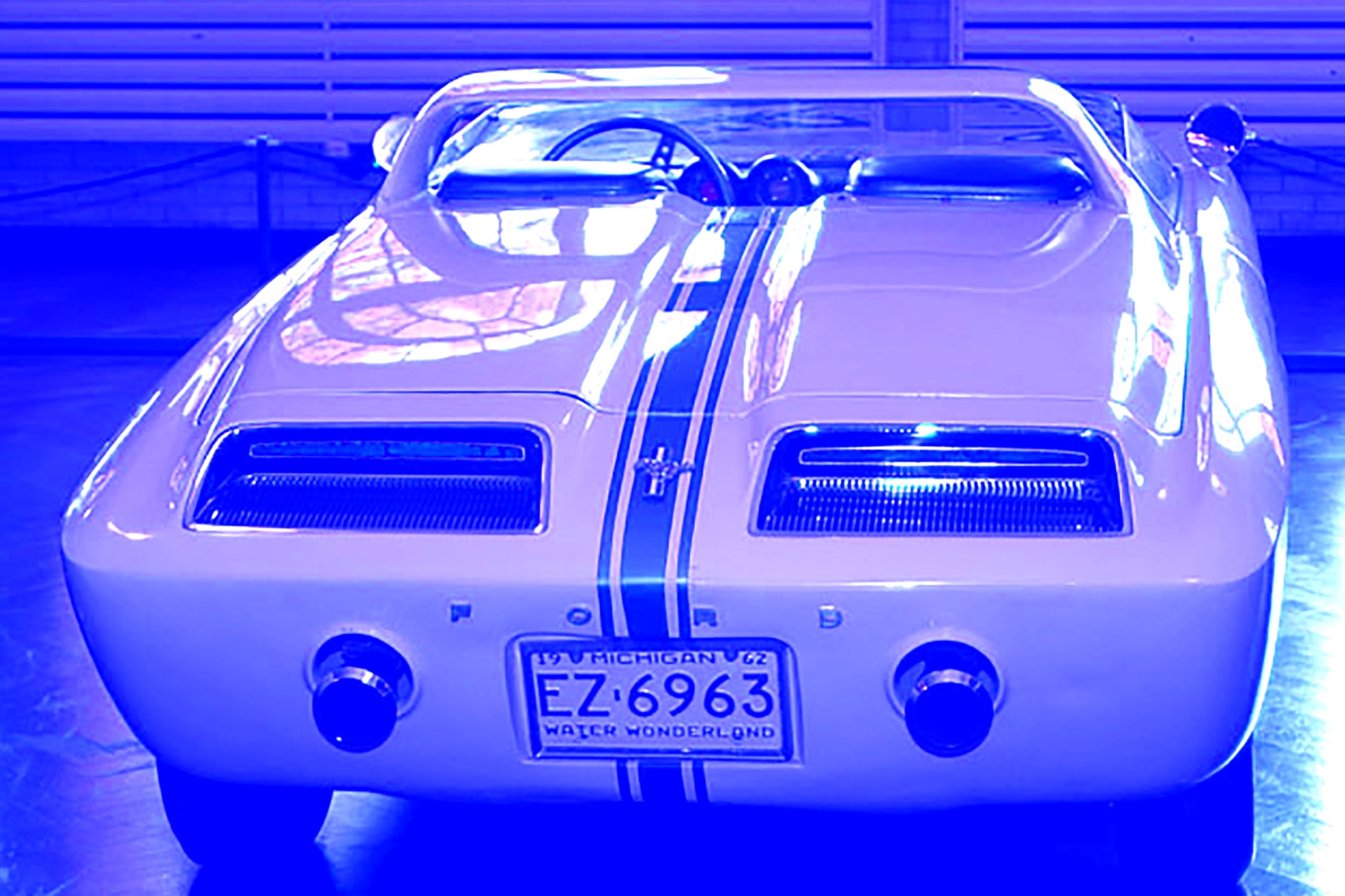 1962 Ford Mustang First Ever Concept Rear