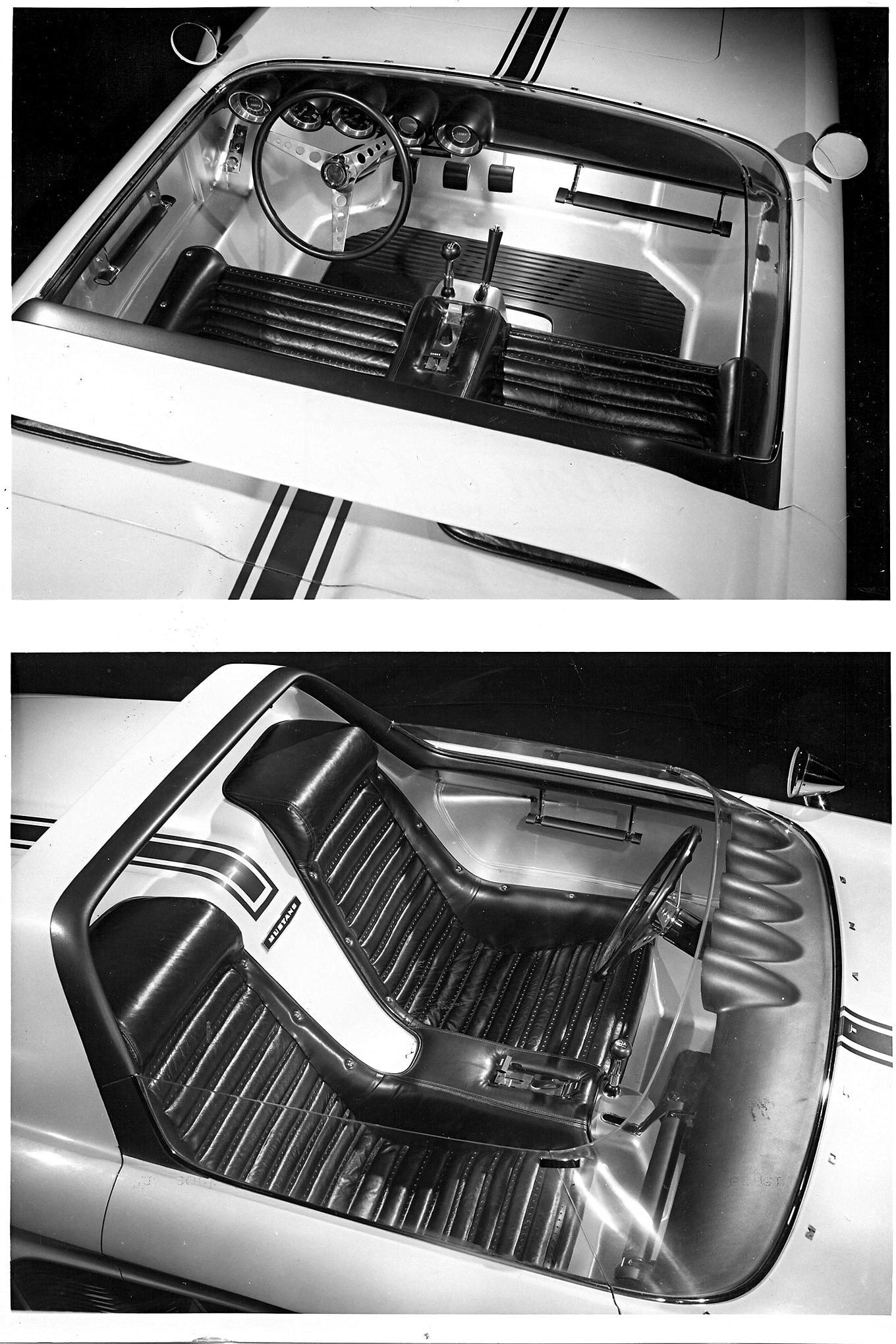 1962 Ford Mustang First Ever Concept Interior Top
