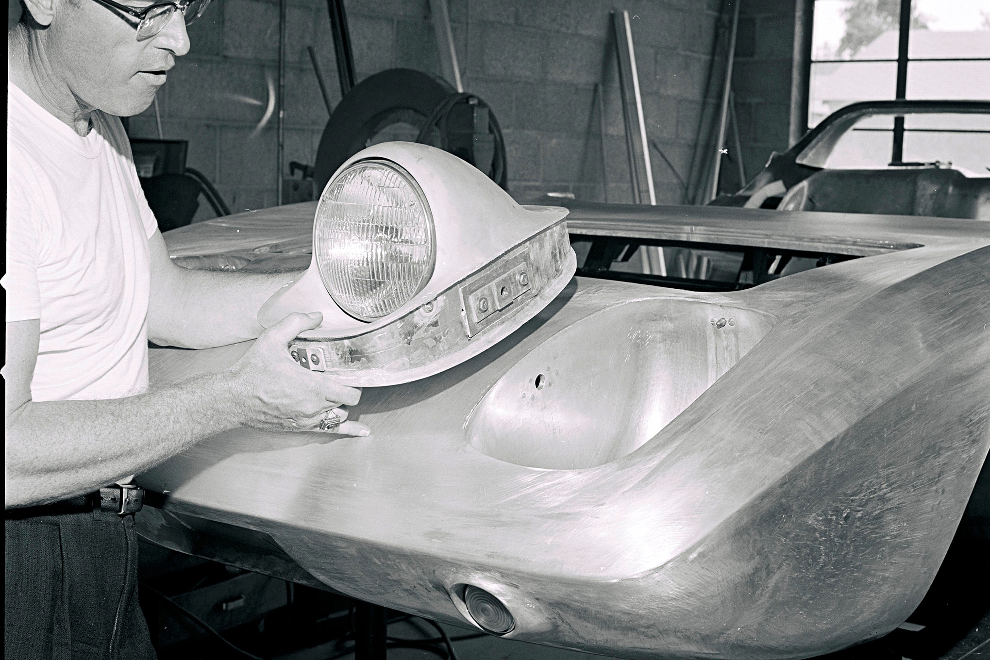 1962 Ford Mustang First Ever Concept Headlight