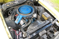 14 1971 Ford Mustang Boss 351 Yellow Engine 660x440