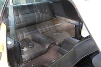 32 1971 Ford Mustang Boss 351 Yellow Fold Down Rear Seat