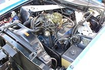 10 1971 Ford Mustang Boss 351 Blue Engine