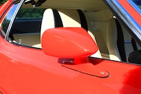 52 1971 Ford Mustang Boss 351 Red Side View Mirror