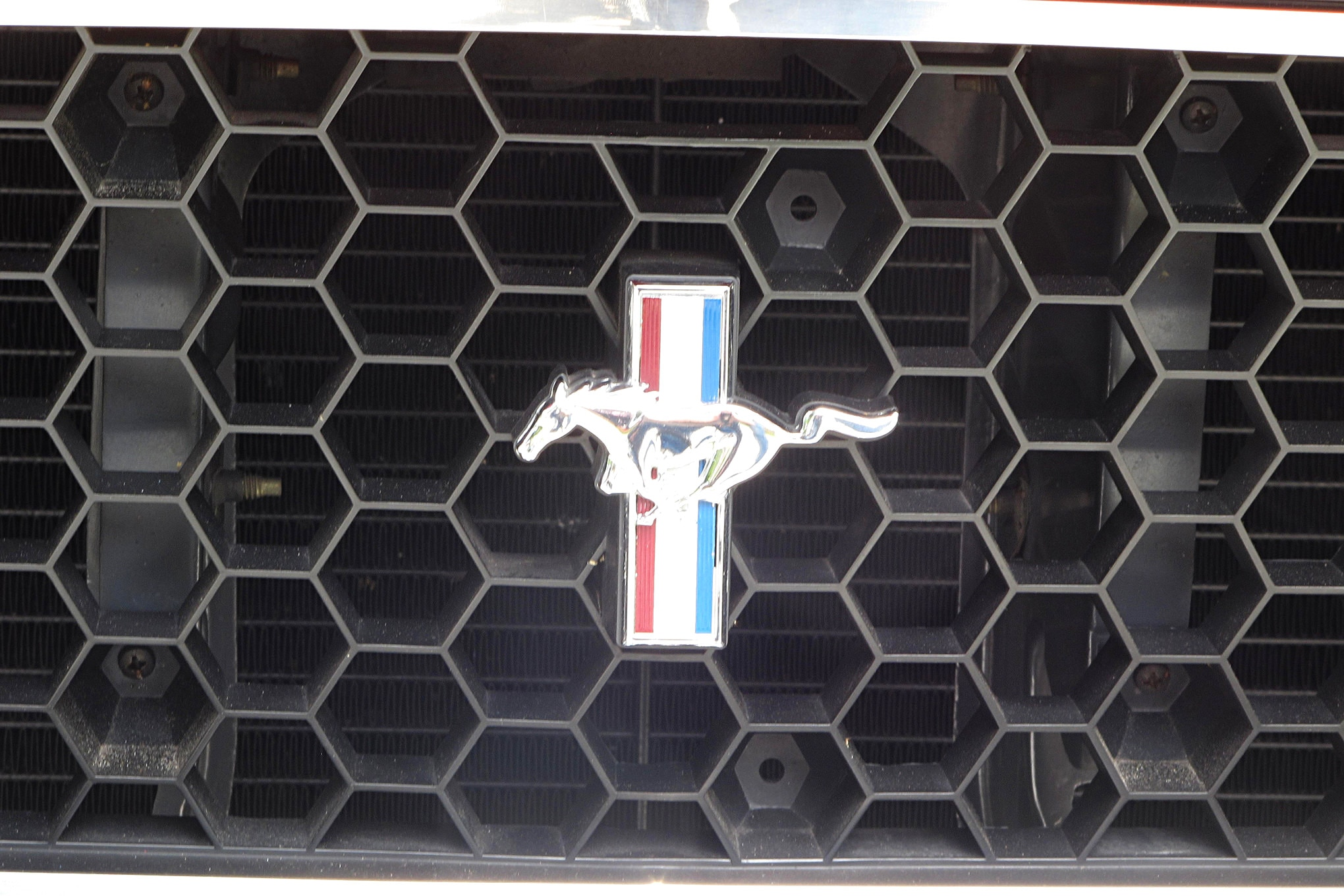 51 1971 Ford Mustang Boss 351 Grille