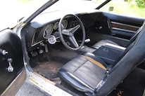 31 1971 Ford Mustang Boss 351 Yellow Interior