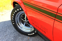 29 1971 Ford Mustang Boss 351 Red Tire Wheel