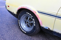 28 1971 Ford Mustang Boss 351 Yellow Tire Wheel