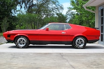 22 1971 Ford Mustang Boss 351 Red Side