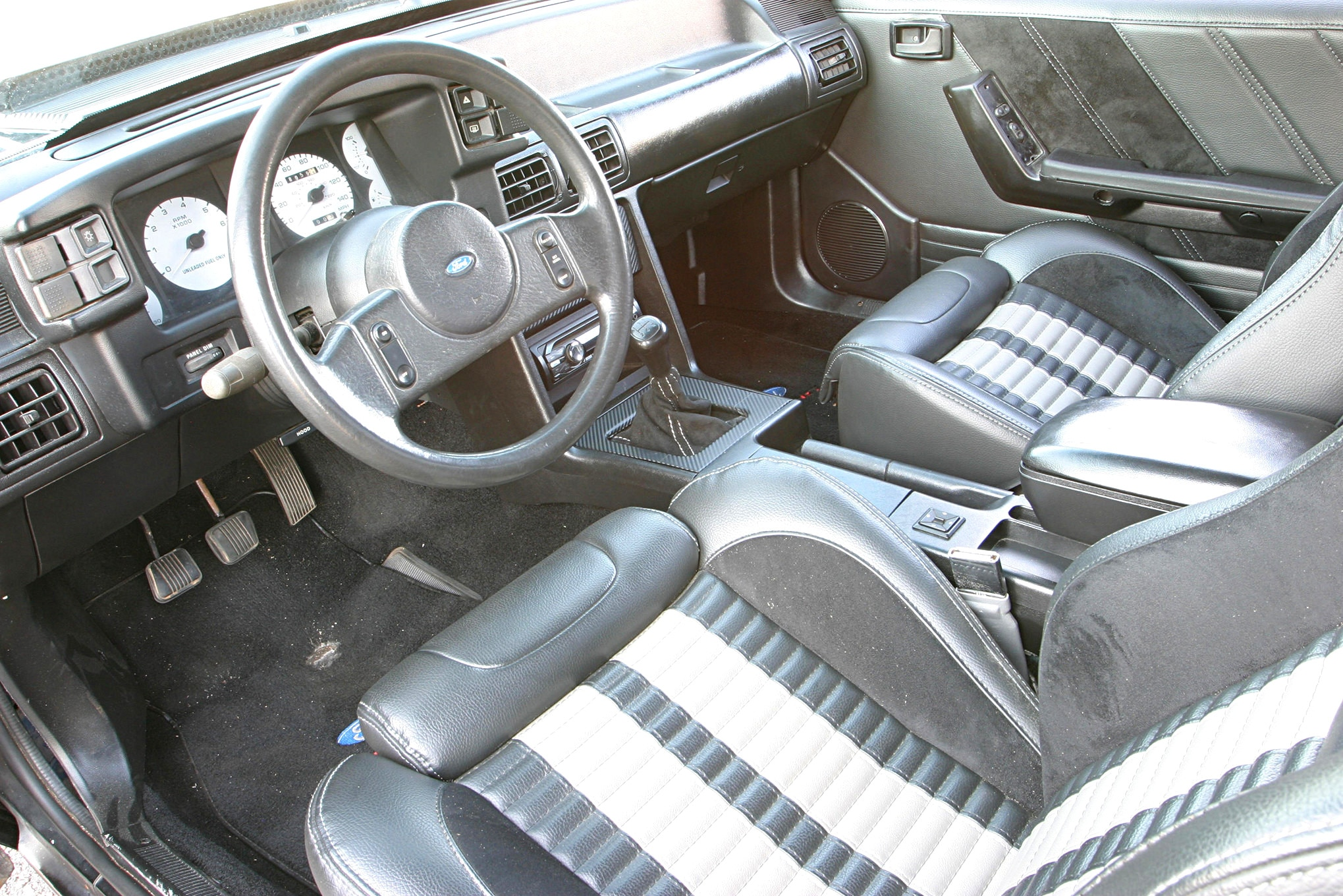 1988 Ford Mustang Lx Coupe Kody Smith Interior 3