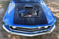 1969 Ford Mustang Mach 1 Engine Bay