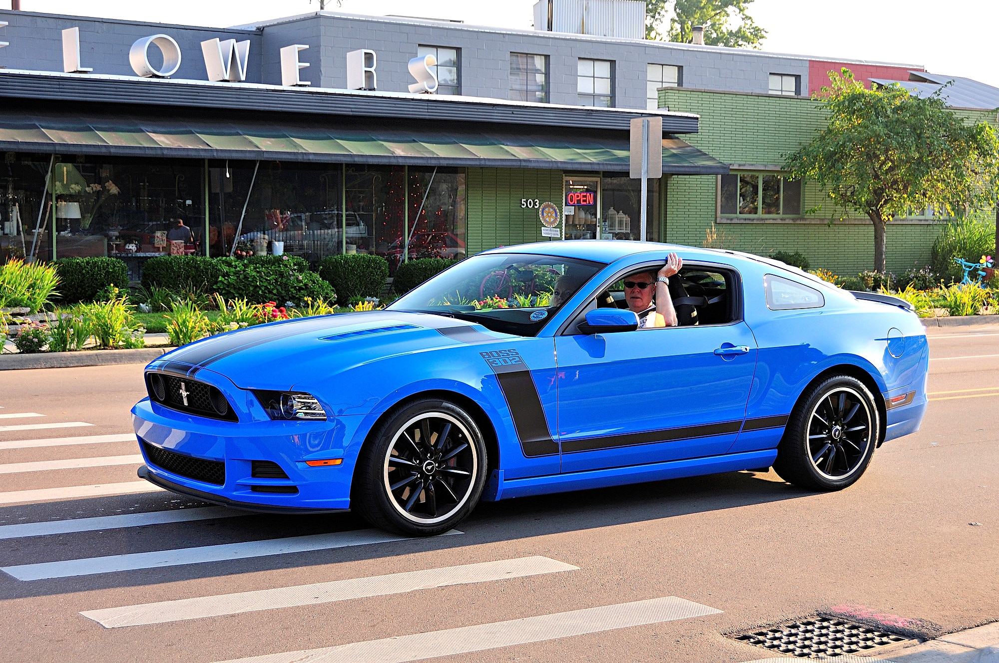 2016 Woodward Dream Cruise Mustang Alley 278
