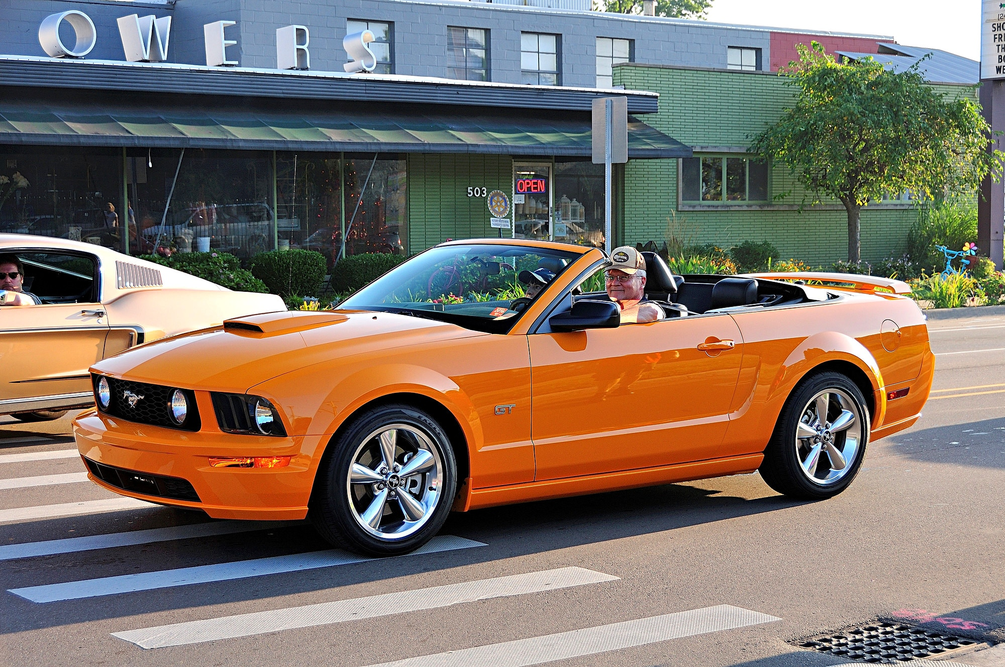 2016 Woodward Dream Cruise Mustang Alley 267