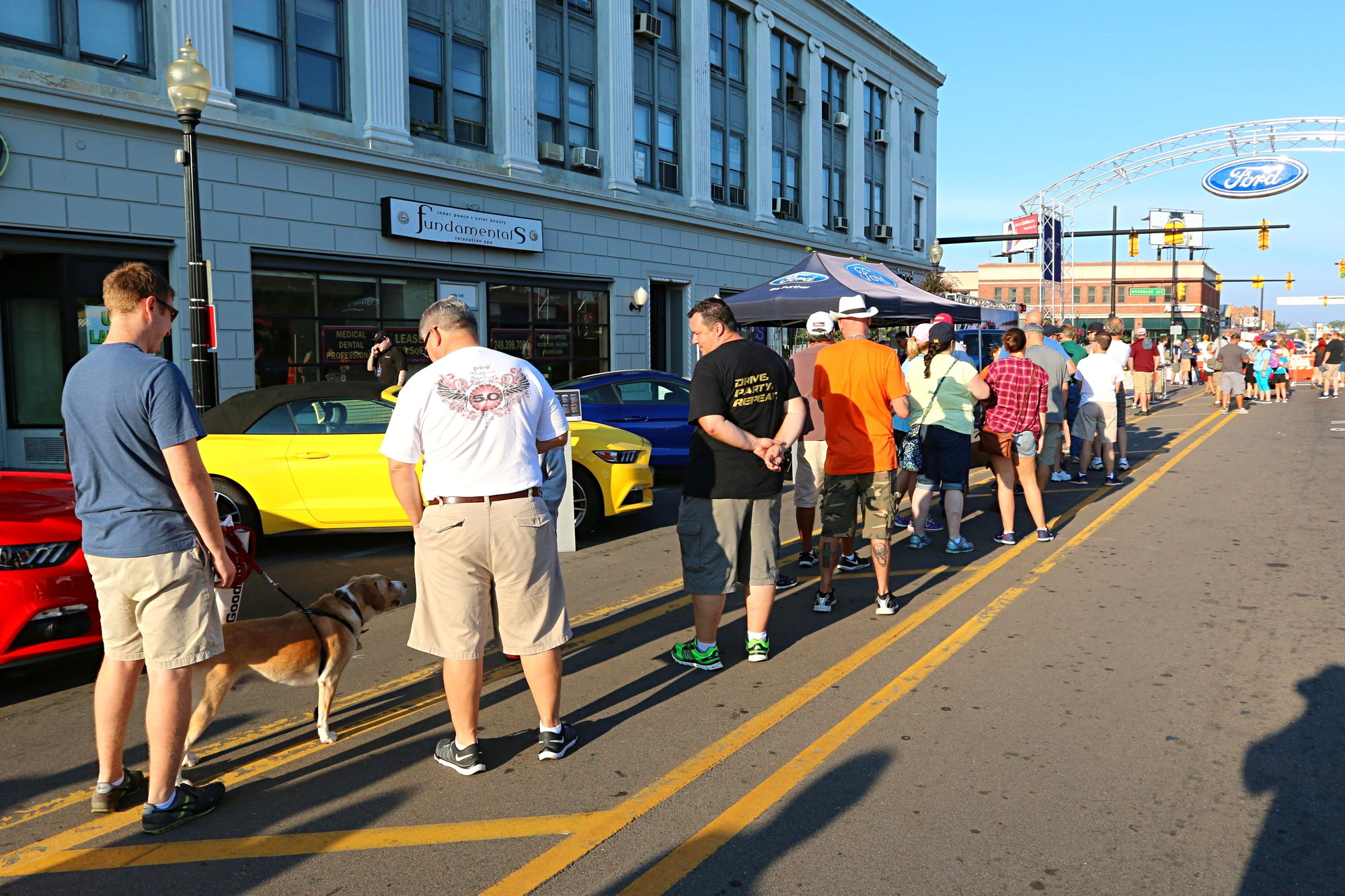 2016 Woodward Dream Cruise Mustang Alley 009