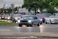 Classic Ford Mustang On Woodward Avenue Dream Cruise