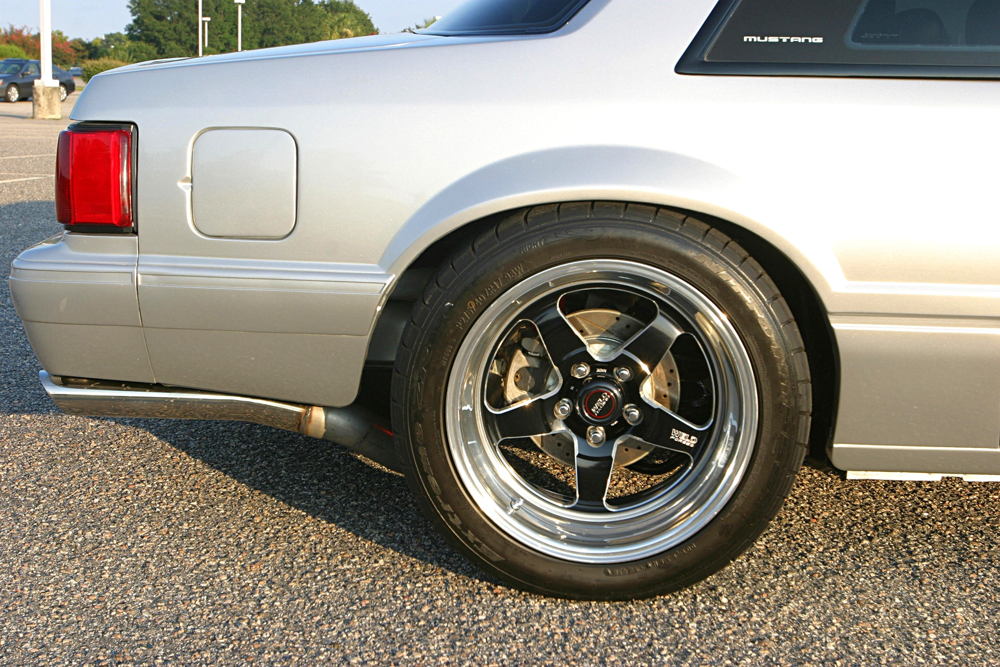 1991 Ford Mustang Lx Fox Body Rear Wheel