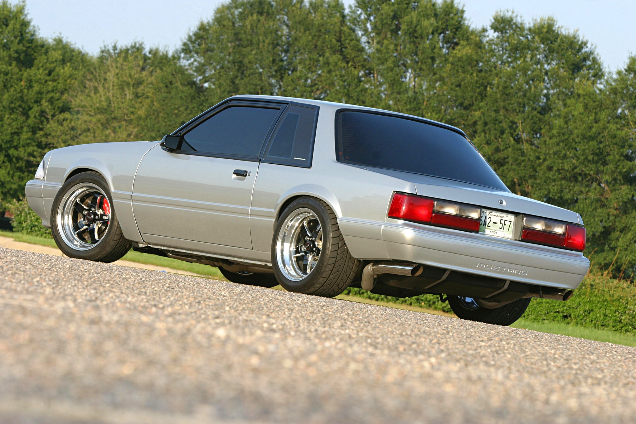 1991 Ford Mustang Lx Fox Body Rear
