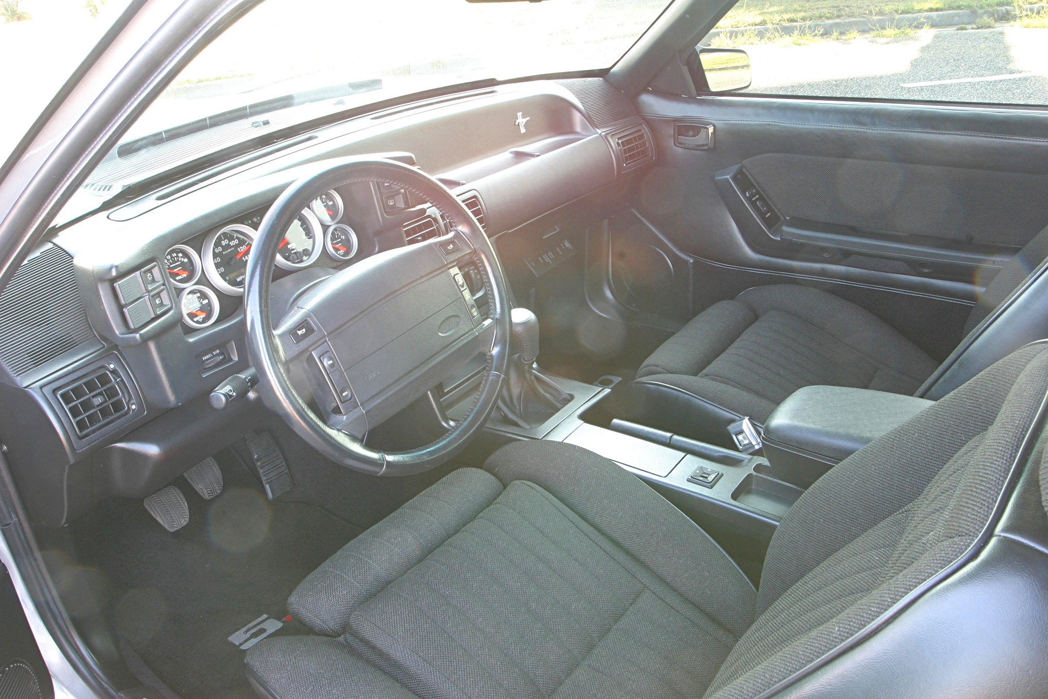 1991 Ford Mustang Lx Fox Body Interior