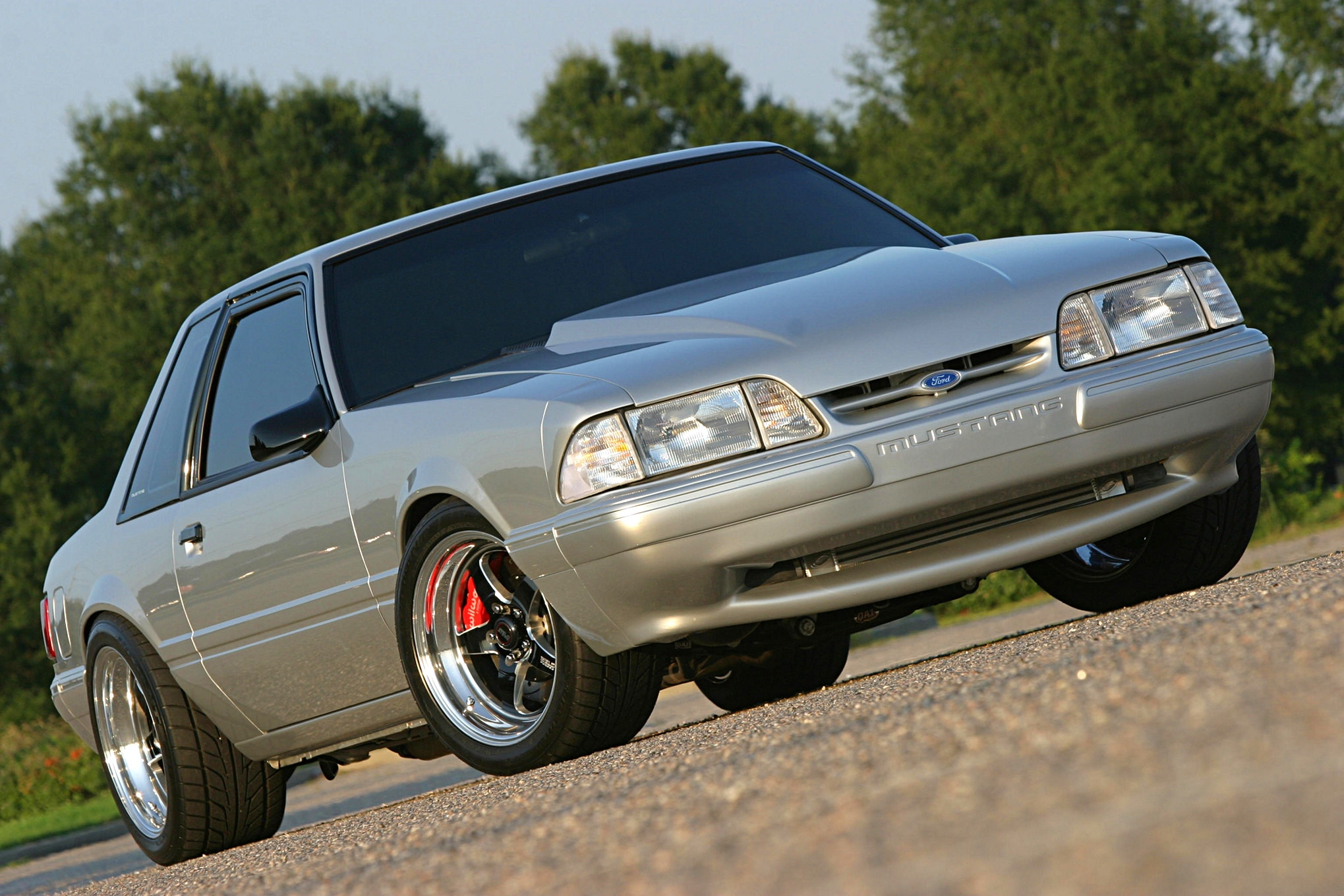 1991 Ford Mustang Lx Fox Body Front Quarter