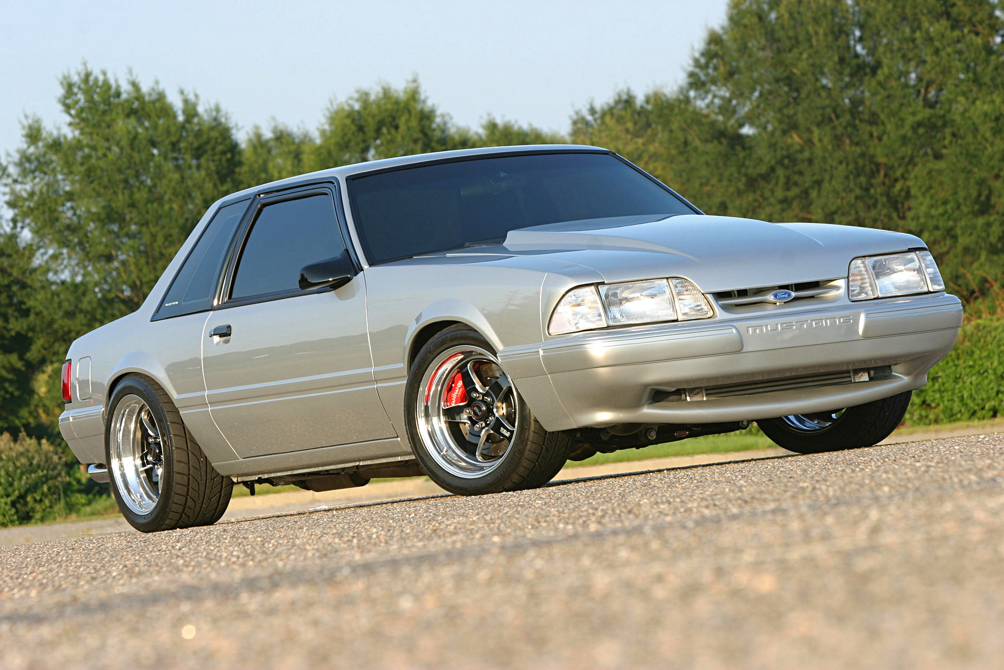 1991 Ford Mustang Lx Fox Body Front Passenger Side