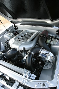 1991 Ford Mustang Lx Fox Body Engine Detail