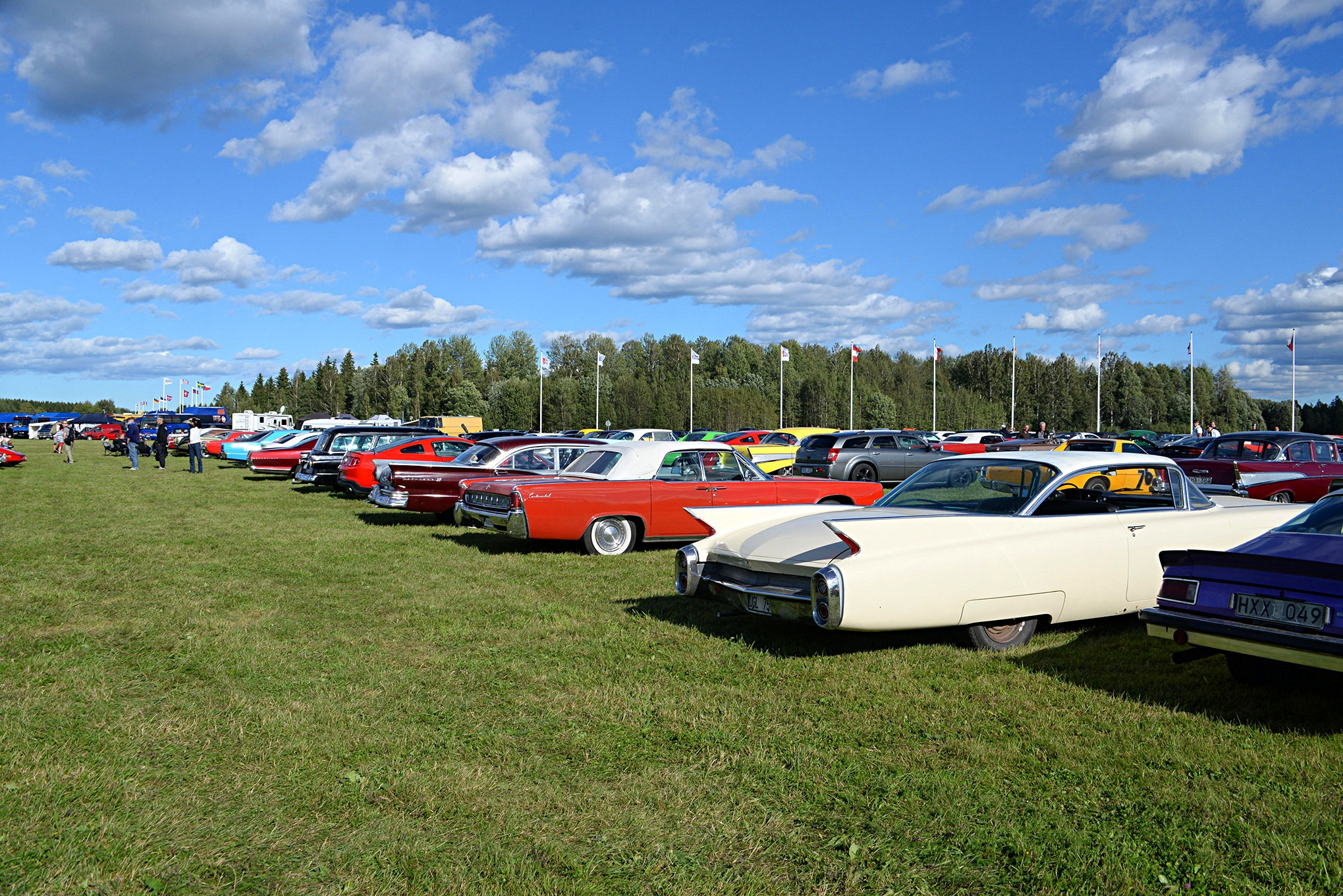 Ford Racing At Tierp In Sweden 40