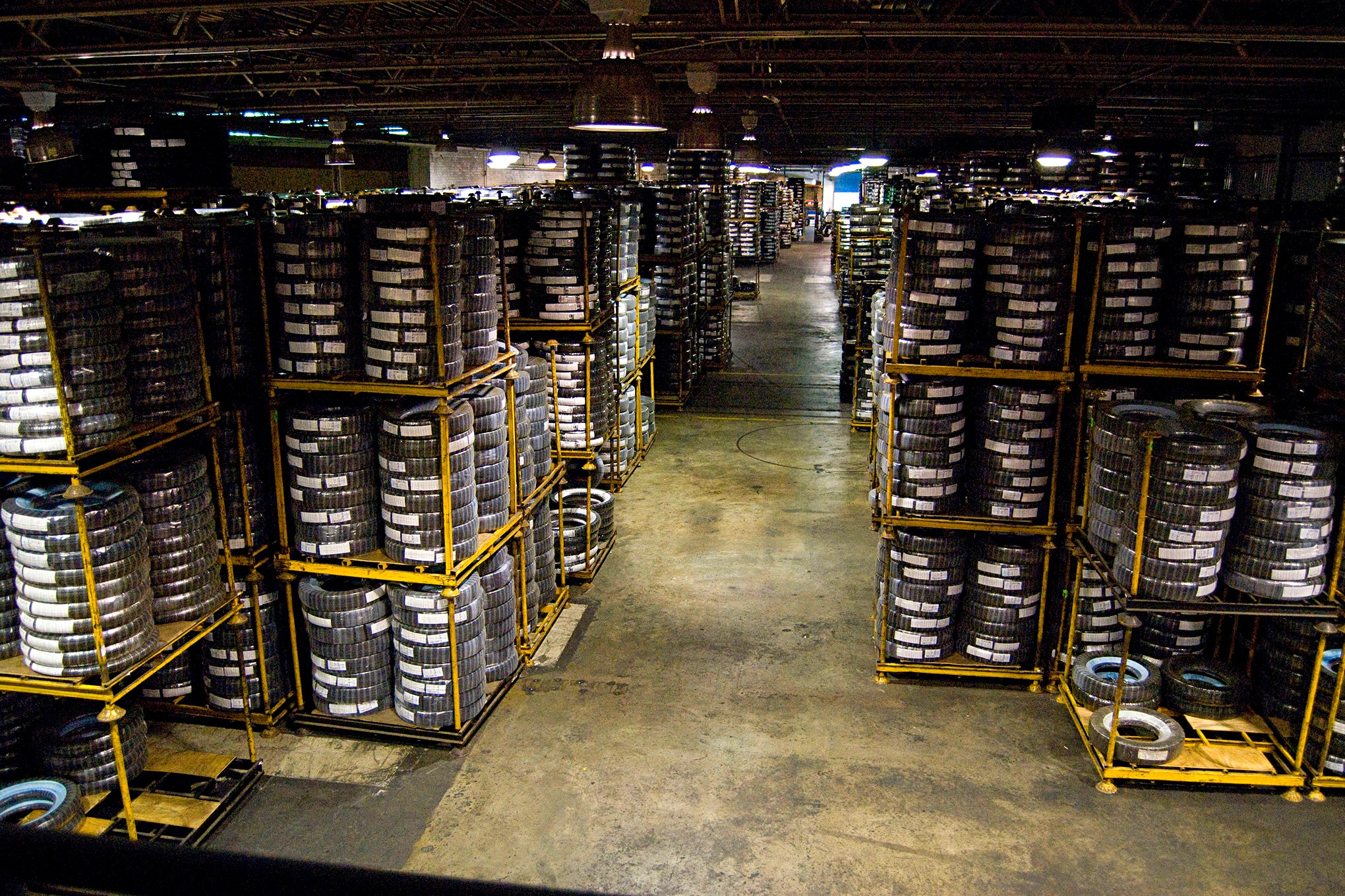 Coker Tire Stock In Warehouse